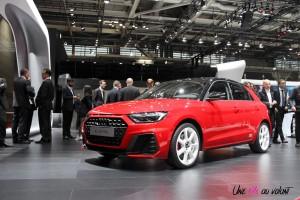 Audi A1 Mondial auto Paris 2018