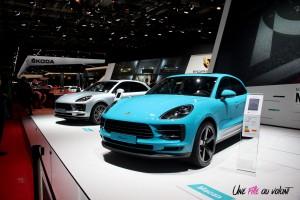 Porsche Macan Mondial auto Paris 2018