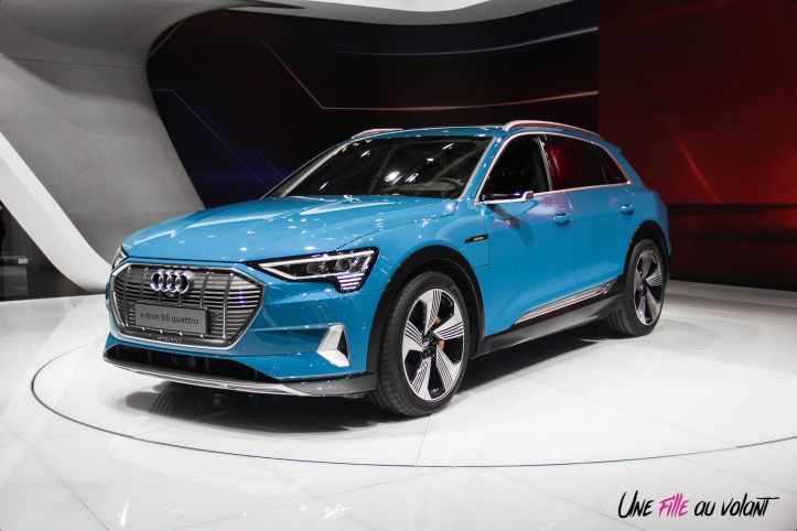 Audi e-tron Mondial auto Paris 2018 avant