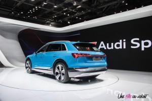Audi e-tron Mondial auto Paris 2018 arrière feux électrique