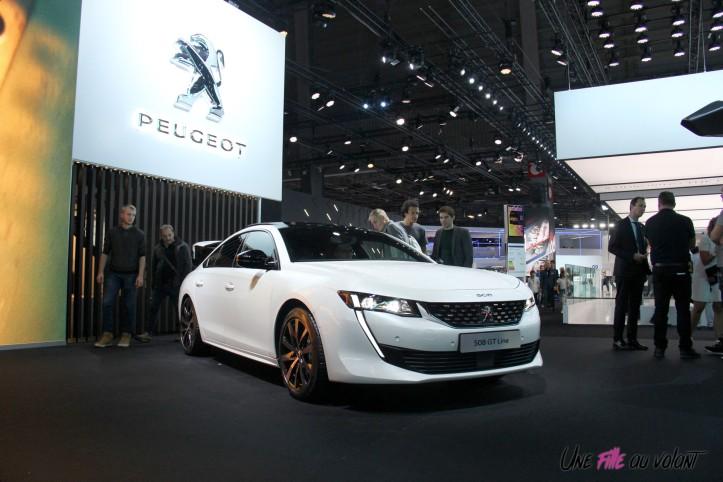 Peugeot 508 Mondial auto Paris 2018