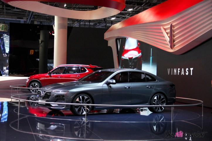 Vinfast Mondial auto Paris 2018
