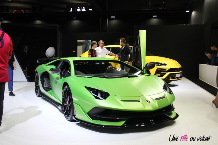 Lamborghini Aventador SVJ Mondial auto Paris 2018