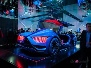 DS X E-Tense concept Mondial auto Paris 2018