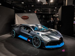 Bugatti Divo Mondial auto Paris 2018
