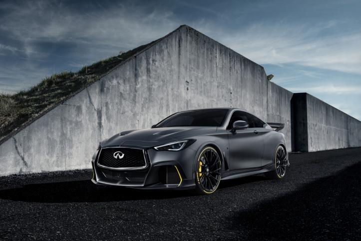 Infiniti Project Black S concept 2018 Mondial de l'auto de Paris