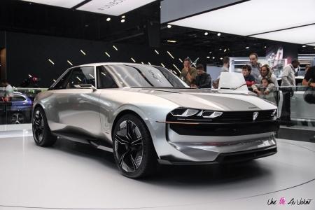 Peugeot e-Legend Concept 2018 Mondial de l'auto de Paris