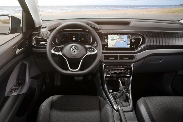 Volkswagen T-Cross 2018 intérieur écran
