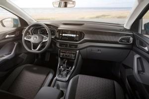 Volkswagen T-Cross 2018 intérieur volant siège écran