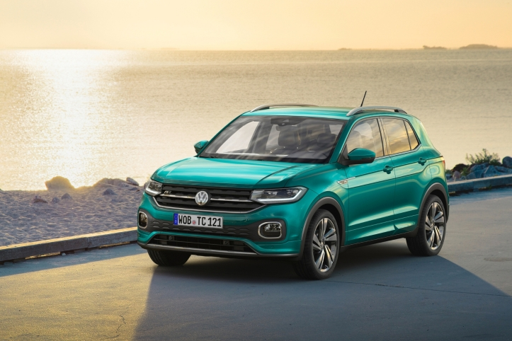 Volkswagen T-Cross 2018 statique jantes avant