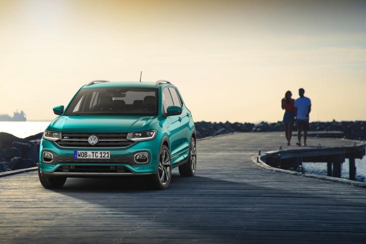 Volkswagen T-Cross 2018 statique calandre feux