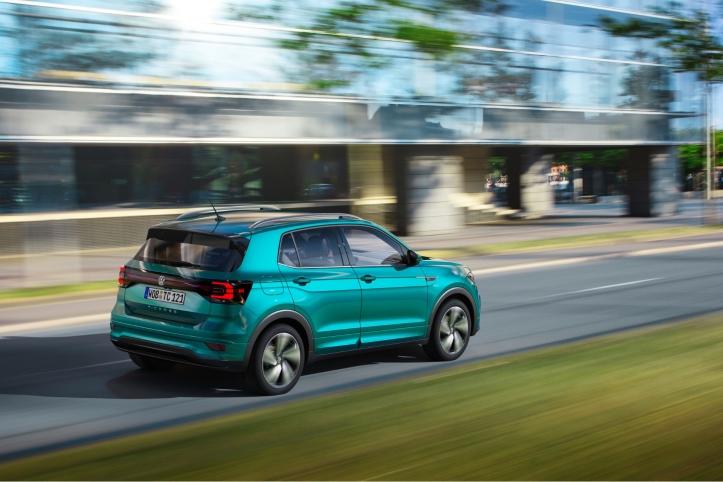 Volkswagen T-Cross 2018 dynamique arrière feux