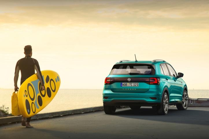 Volkswagen T-Cross 2018 arrière statique feux