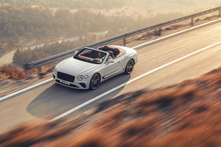 Bentley Continental GT Convertible, capote, jantes, feux, calandre