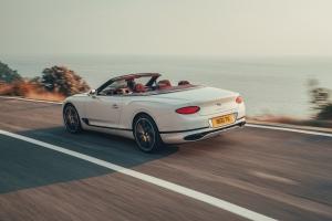 Bentley Continental GT Convertible, arrière, feux, échappement