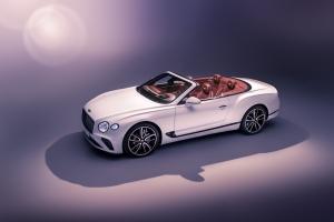 Bentley Continental GT Convertible, statique, capote, intérieur, roues