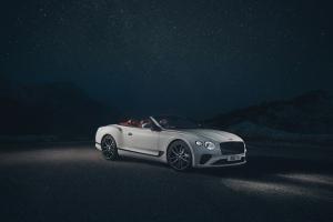 Bentley Continental GT Convertible, profil, calandre, roues, cabriolet