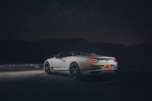 Bentley Continental GT Convertible, feux, jantes, cabriolet, statique, arrière