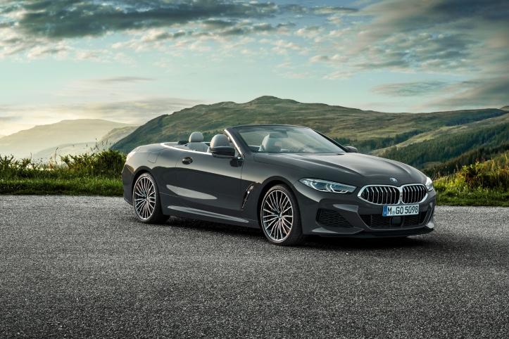 BMW Série 8 cabriolet 2018 bouclier avant roues