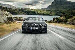 BMW Série 8 cabriolet 2018 face avant calandre feux