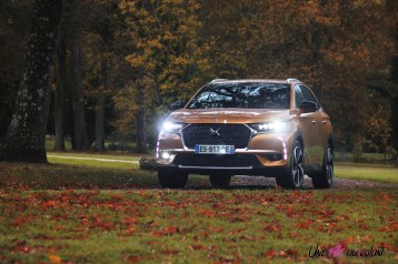 DS 7 Crossback 2018 avant or byzantin roues feux