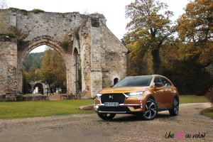 DS 7 Crossback 2018 avant jantes phares or byzantin