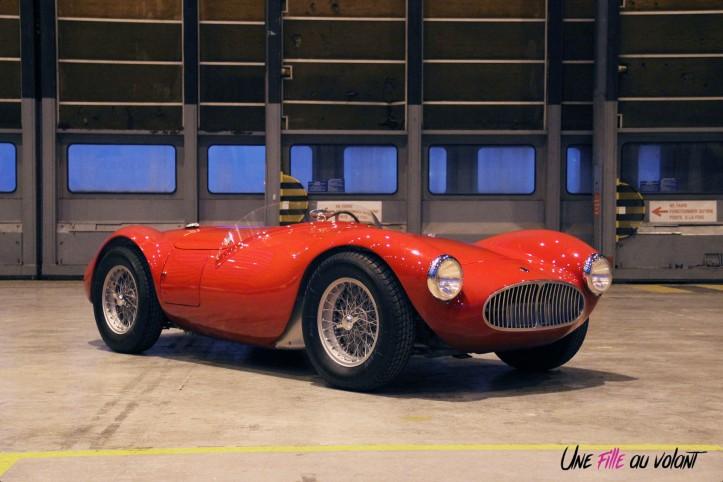 Maserati A6CGS, Fantozzi, artcurial, rétromobile