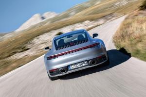Porsche 911 type 992, arrière, feux