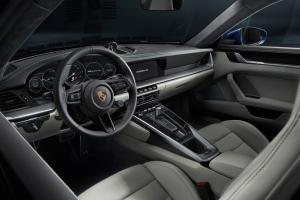 Porsche 911 type 992, intérieur, sièges, écran