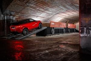 Range Rover Evoque 2018 arrière rouge roues jantes
