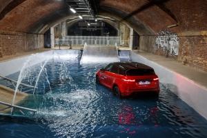 Range Rover Evoque 2018 arrière feux bouclier rouge