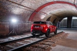 Range Rover Evoque 2018 arrière profil toit feux