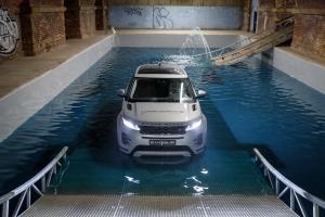 Range Rover Evoque 2018 avant feux franchissement