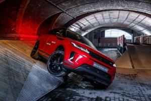 Range Rover Evoque 2018 avant jantes feux franchissement