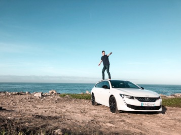 Essai Peugeot 508 SW 2018 blanc puretech