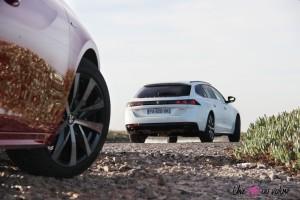 Peugeot 508 SW jante arrière feux