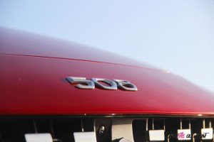 Peugeot 508 SW logo capot
