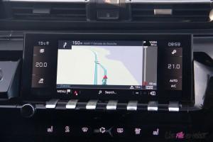 Peugeot 508 SW écran tactile GPS