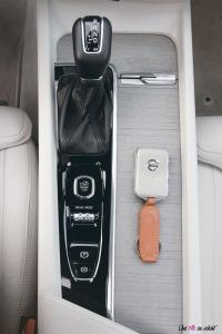 Volvo V60 clé console intérieur cuir geatronic