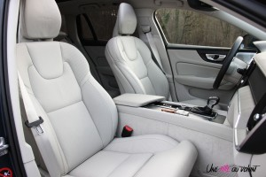 Volvo V60 sièges avant intérieur cuir