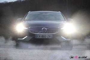 Volvo V60 avant feux statique