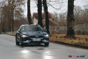 Volvo V60 avant dynamique feux calandre