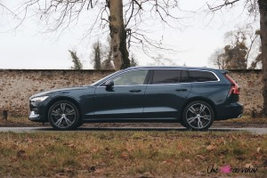 Volvo V60 profil break empattement
