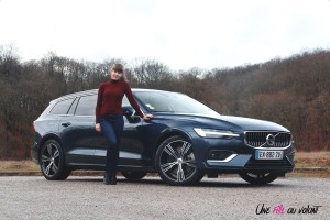 Volvo V60 Marie Lizak break jantes Inscription luxe