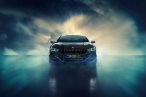 BMW M850i Night Sky avant feux calandre