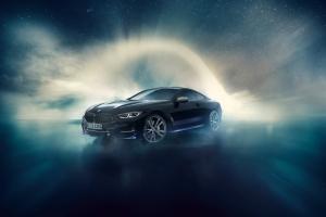 BMW M850i Night Sky profil jantes calandre