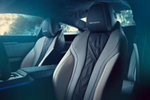 BMW M850i Night Sky sièges intérieur