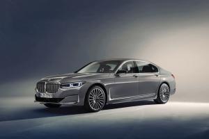 BMW Série 7 calandre avant jantes statique
