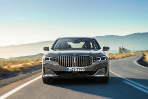 BMW Série 7 2019 calandre optiques gris
