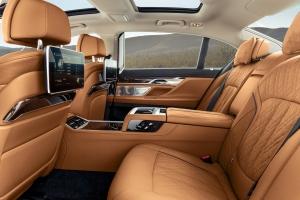 BMW Série 7 intérieur cuir sièges